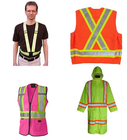 Safety clothing, its designs and materials.